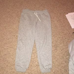 grey old navy sweats / joggers